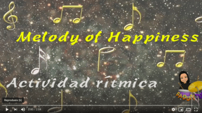 Melody of happiness